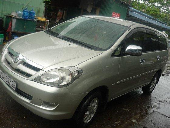 Bán xe ô tô Toyota Innova G màu ghi bạc nguyên bản chính chủ đăng ký tên tư nhân-2