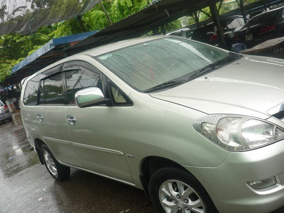 Bán xe ô tô Toyota Innova G màu ghi bạc nguyên bản chính chủ đăng ký tên tư nhân-1
