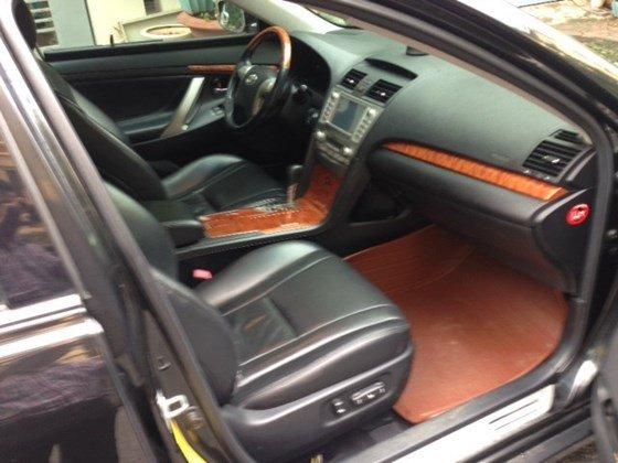 Chính chủ bán ô tô Camry 3.5Q đời 2007 màu đen, nội thất da màu đen-1