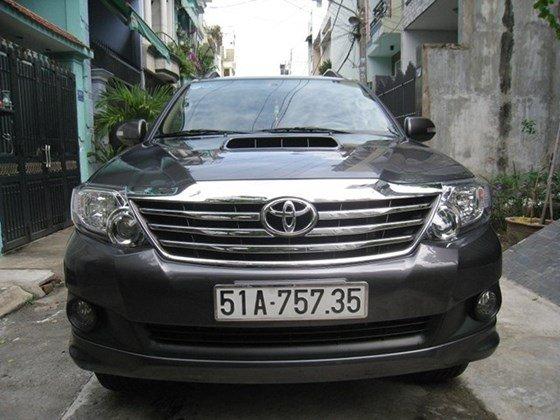 Cần bán gấp Toyota Fortuner G sản xuất 2014, màu xám, nhập khẩu, chính chủ-0