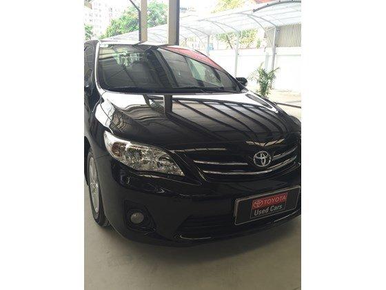 Xe Toyota Corolla Altis đời 2012, màu đen, nhập khẩu chính hãng, số sàn-0