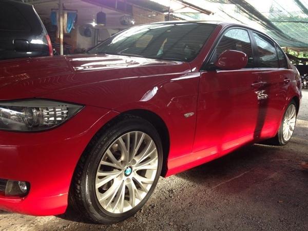 Cần bán BMW 320i đời 2010, màu đỏ, nhập khẩu, số tự động -0