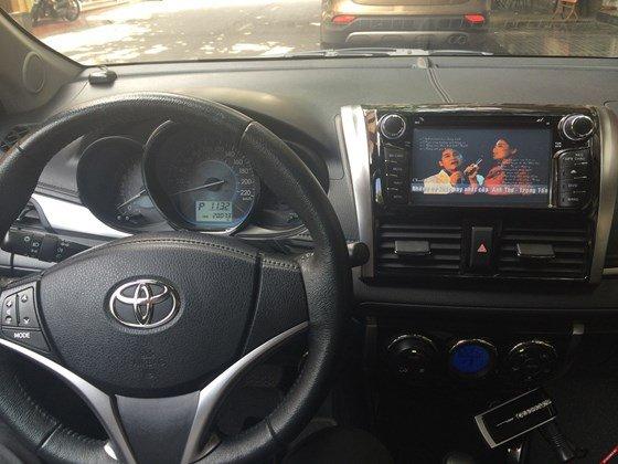 Em bán xe Toyota Vios G 2014 số tự động - mầu vàng cát. Nội thất màu đen-14