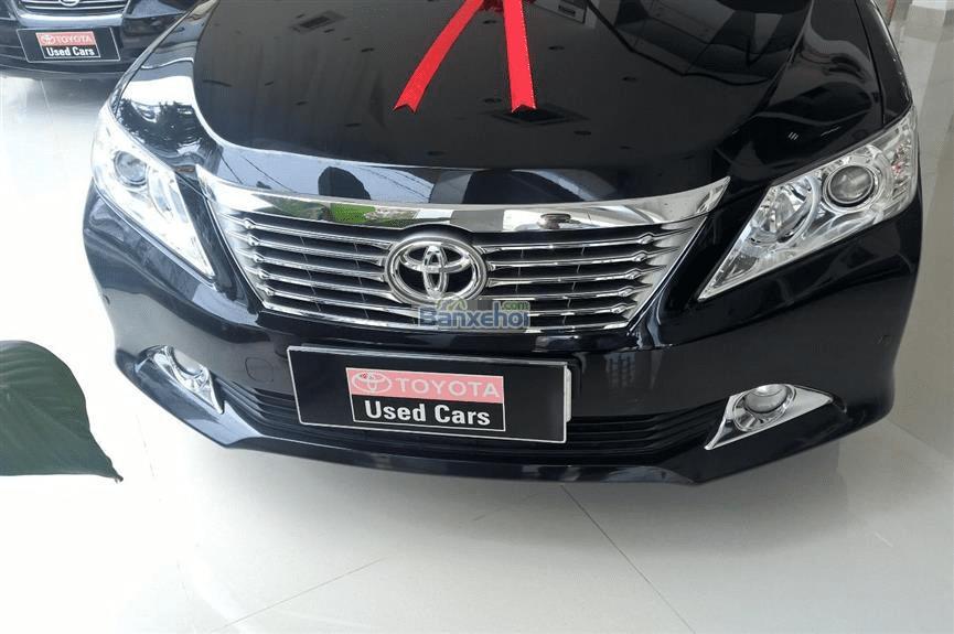 Toyota Đông Sài Gòn xe đã qua sử dụng đang bán Camry 2.5G màu đen, pháp lý cá nhân-1