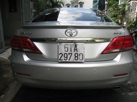 Gia đình bán Toyota Camry 2.4L sản xuất cuối 2012, màu bạc, nội thất màu da kem rất đẹp-1