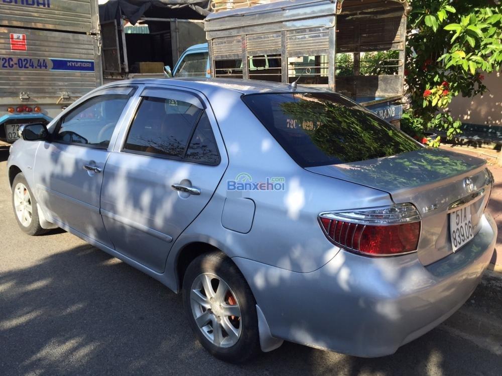 Bán xe Toyota Vios đời 2004, màu bạc giá 290 tr-4