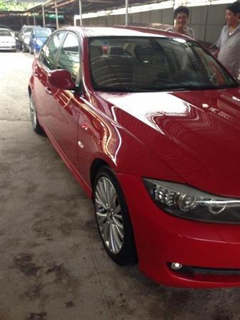 Cần bán BMW 320i đời 2010, màu đỏ, nhập khẩu, số tự động -1