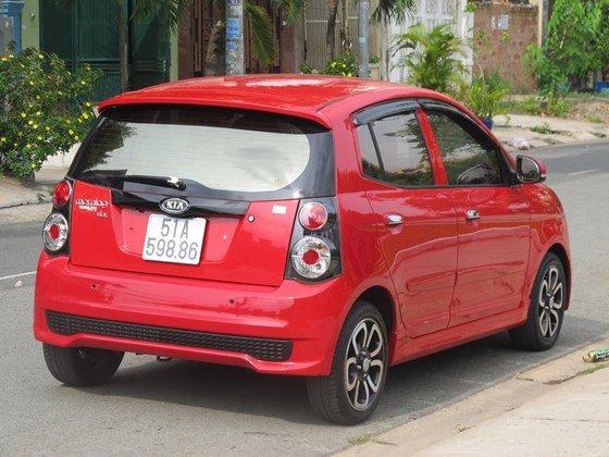 Cần bán xe Kia Morning đời 2009, màu đỏ, nhập khẩu nguyên chiếc, còn mới  -1