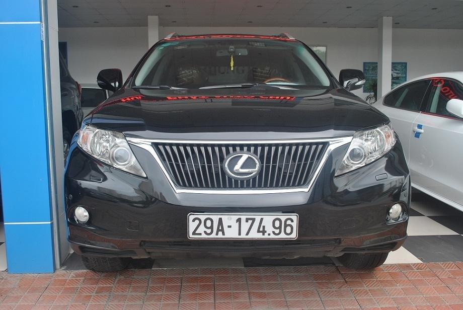 Cần bán Lexus RX năm 2011, màu đen, nhập khẩu chính hãng, chính chủ-0