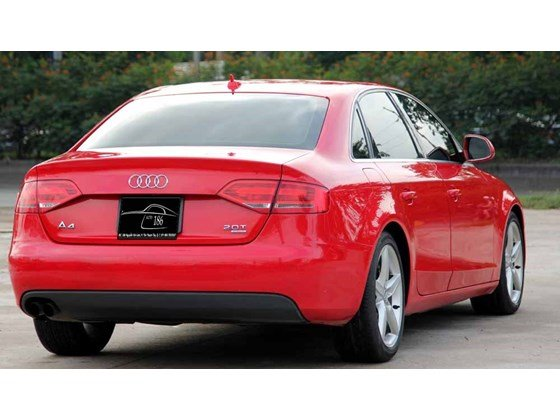 Bán Audi A4 đời 2009, màu đỏ, nhập khẩu-10