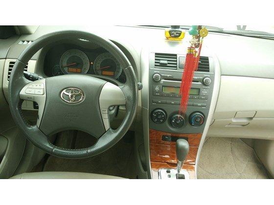 Cần bán lại xe Toyota Corolla Altis đời 2009, màu đen, nhập khẩu chính hãng-13