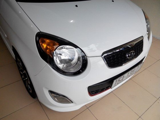 Cần bán xe Kia Morning đời 2010, màu trắng, nhập khẩu nguyên chiếc-1