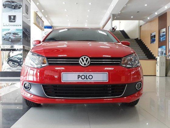 Bán Volkswagen Polo năm 2015, màu đỏ, xe nhập-2
