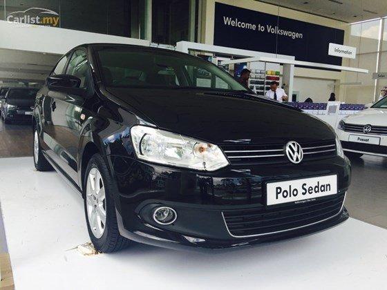 Bán xe Volkswagen Polo đời 2015, màu đen, nhập khẩu-1