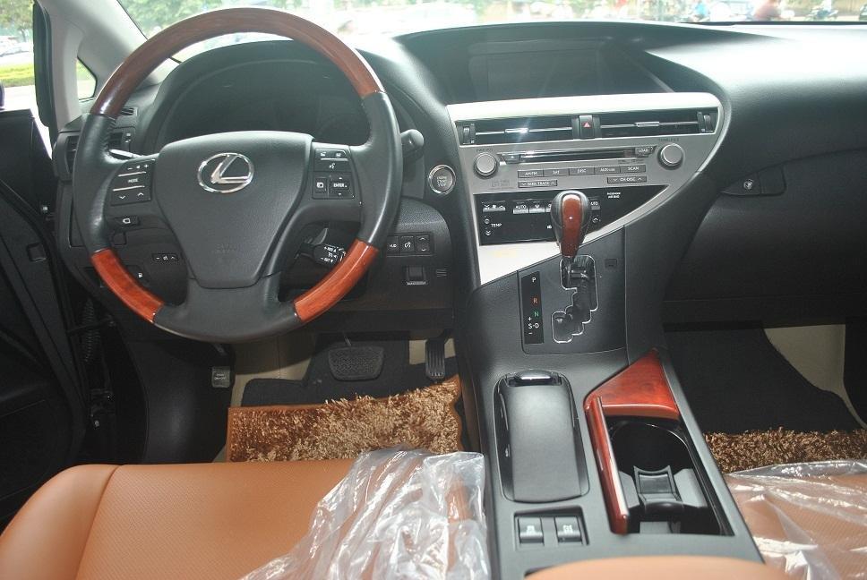 Cần bán Lexus RX năm 2011, màu đen, nhập khẩu chính hãng, chính chủ-4