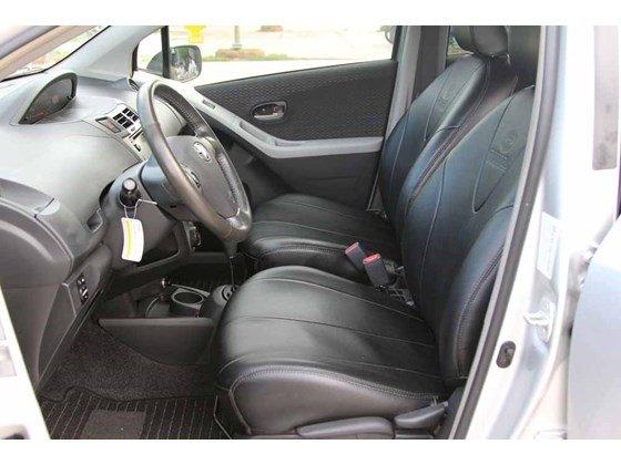 Cần bán xe Toyota Yaris đời 2009, màu bạc, xe nhập-5