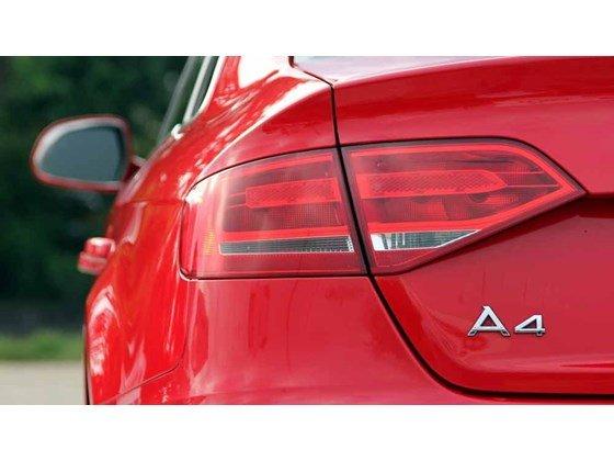 Bán Audi A4 đời 2009, màu đỏ, nhập khẩu-9