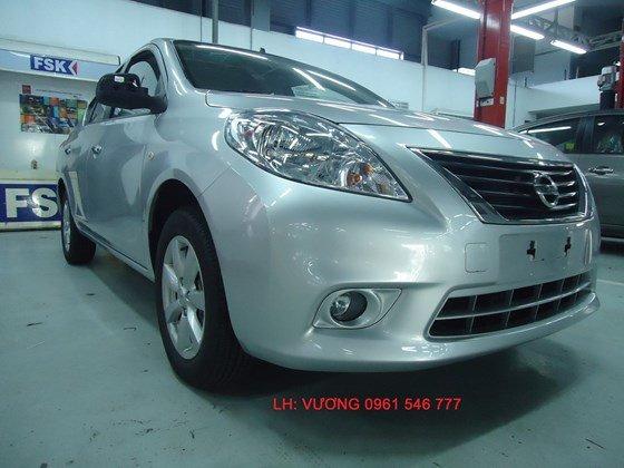 Cần bán Nissan Sunny đời 2015, màu trắng, nhập khẩu-9