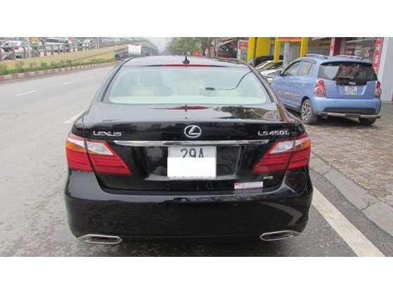Cần bán xe Lexus LS 460L đời 2010, màu đen, nhập khẩu nguyên chiếc, số tự động-1