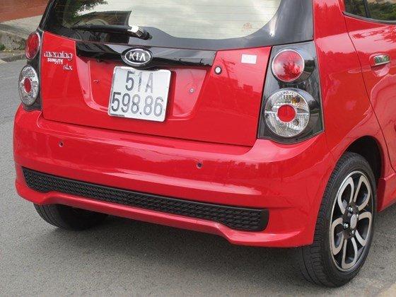 Cần bán xe Kia Morning đời 2009, màu đỏ, nhập khẩu nguyên chiếc, còn mới  -2