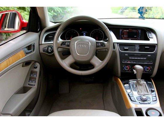Bán Audi A4 đời 2009, màu đỏ, nhập khẩu-13