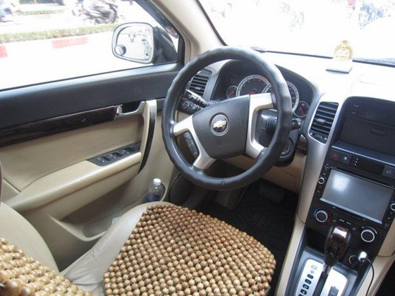 Bán xe Chevrolet Captiva đời 2009, màu đen, nhập khẩu chính hãng, số tự động-6