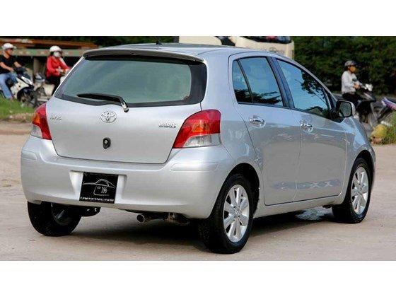 Cần bán xe Toyota Yaris đời 2009, màu bạc, xe nhập-12
