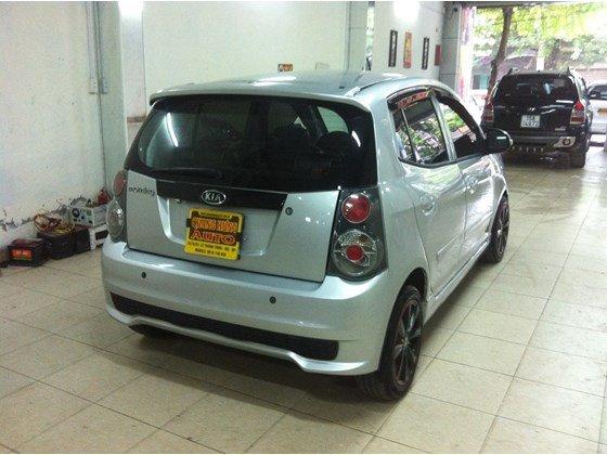 Cần bán lại xe Kia Morning năm 2010, màu bạc, nhập khẩu, số sàn -4