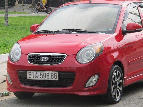 Cần bán xe Kia Morning đời 2009, màu đỏ, nhập khẩu nguyên chiếc, còn mới  -4