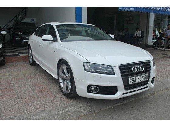 Cần bán xe Audi A5 đời 2011, màu trắng, nhập khẩu, chính chủ-0