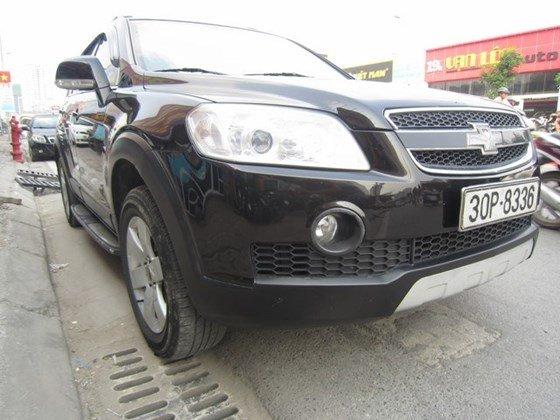 Bán xe Chevrolet Captiva đời 2009, màu đen, nhập khẩu chính hãng, số tự động-0