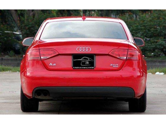 Bán Audi A4 đời 2009, màu đỏ, nhập khẩu-11