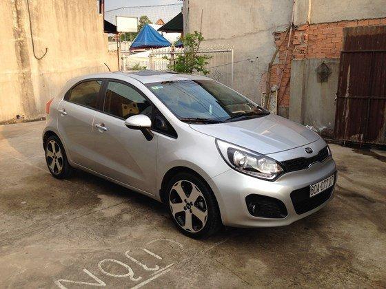 Bán xe Kia Rio đời 2013, màu bạc, nhập khẩu Hàn Quốc, số tự động, 525 triệu-3