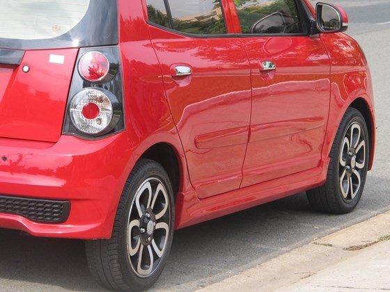 Cần bán xe Kia Morning đời 2009, màu đỏ, nhập khẩu nguyên chiếc, còn mới  -3