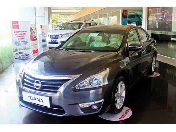 Bán Nissan Teana đời 2015, màu đen, nhập khẩu-4