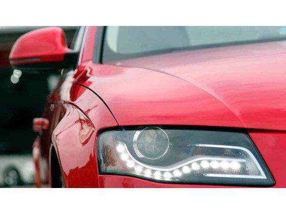Bán Audi A4 đời 2009, màu đỏ, nhập khẩu-4