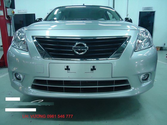 Cần bán Nissan Sunny đời 2015, màu trắng, nhập khẩu-6