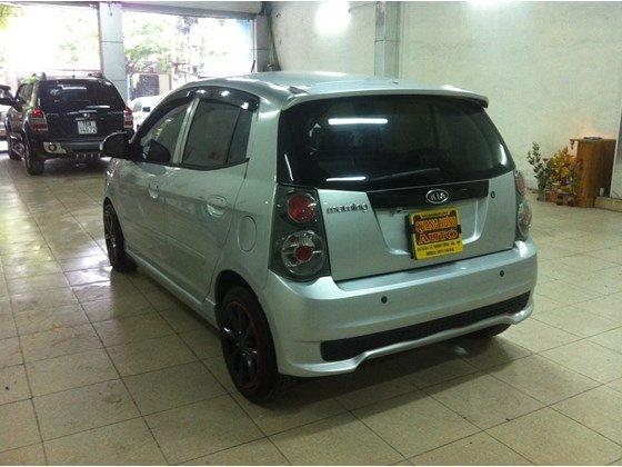 Cần bán lại xe Kia Morning năm 2010, màu bạc, nhập khẩu, số sàn -3