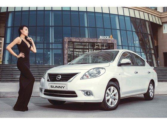 Cần bán Nissan Sunny đời 2015, màu trắng, nhập khẩu-0