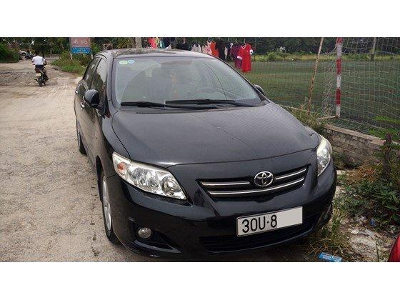 Cần bán lại xe Toyota Corolla Altis đời 2009, màu đen, nhập khẩu chính hãng-0