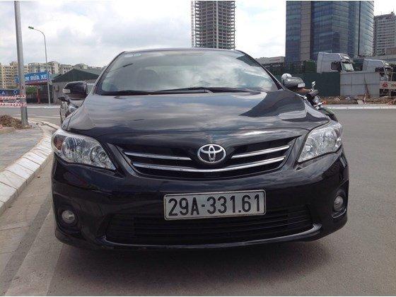 Cần bán gấp Toyota Corolla Altis năm 2011, màu đen, nhập khẩu chính hãng, số sàn, giá chỉ 650 triệu-1