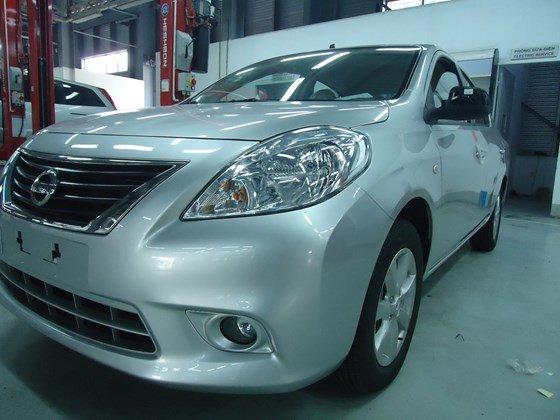 Cần bán Nissan Sunny đời 2015, màu trắng, nhập khẩu-11