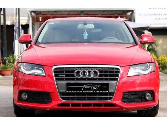 Bán Audi A4 đời 2009, màu đỏ, nhập khẩu-2