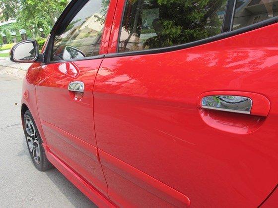 Cần bán xe Kia Morning đời 2009, màu đỏ, nhập khẩu nguyên chiếc, còn mới  -6