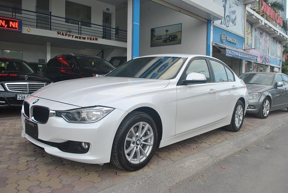 Cần bán gấp BMW 320i đời 2012, màu trắng, nhập khẩu-6