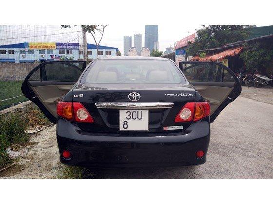 Cần bán lại xe Toyota Corolla Altis đời 2009, màu đen, nhập khẩu chính hãng-9