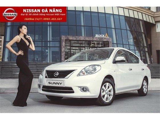 Bán xe Nissan Sunny đời 2015, màu trắng, xe nhập-1