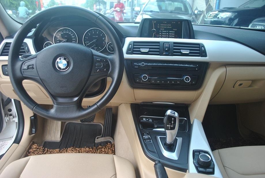 Cần bán gấp BMW 320i đời 2012, màu trắng, nhập khẩu-3