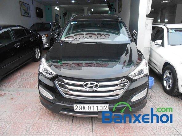 Cần bán xe Hyundai Santa Fe SLX đời 2013, màu đen đã đi 30000 km-0