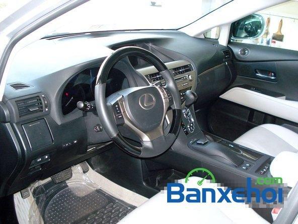 Bán ô tô Lexus RX 350 đời 2013, màu bạc, nhập khẩu chính hãng số tự động-5